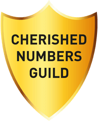 Cherished Numbers Guild Logo